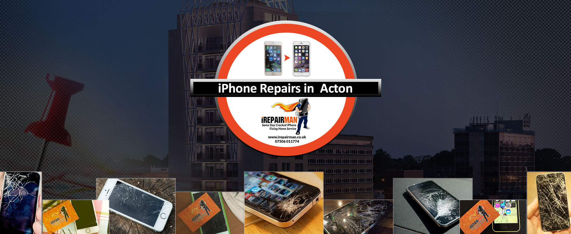 iPhone Repairs in Acton