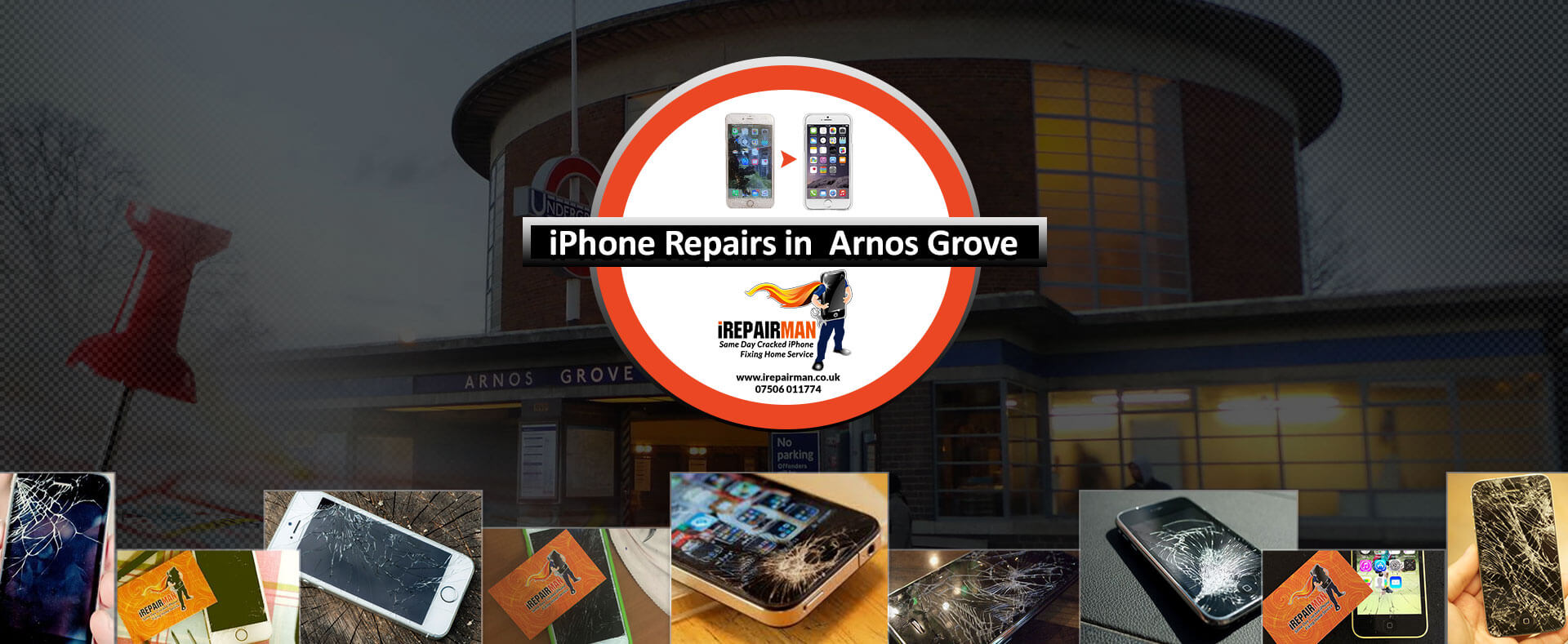 iPhone Repairs in Arnos Grove