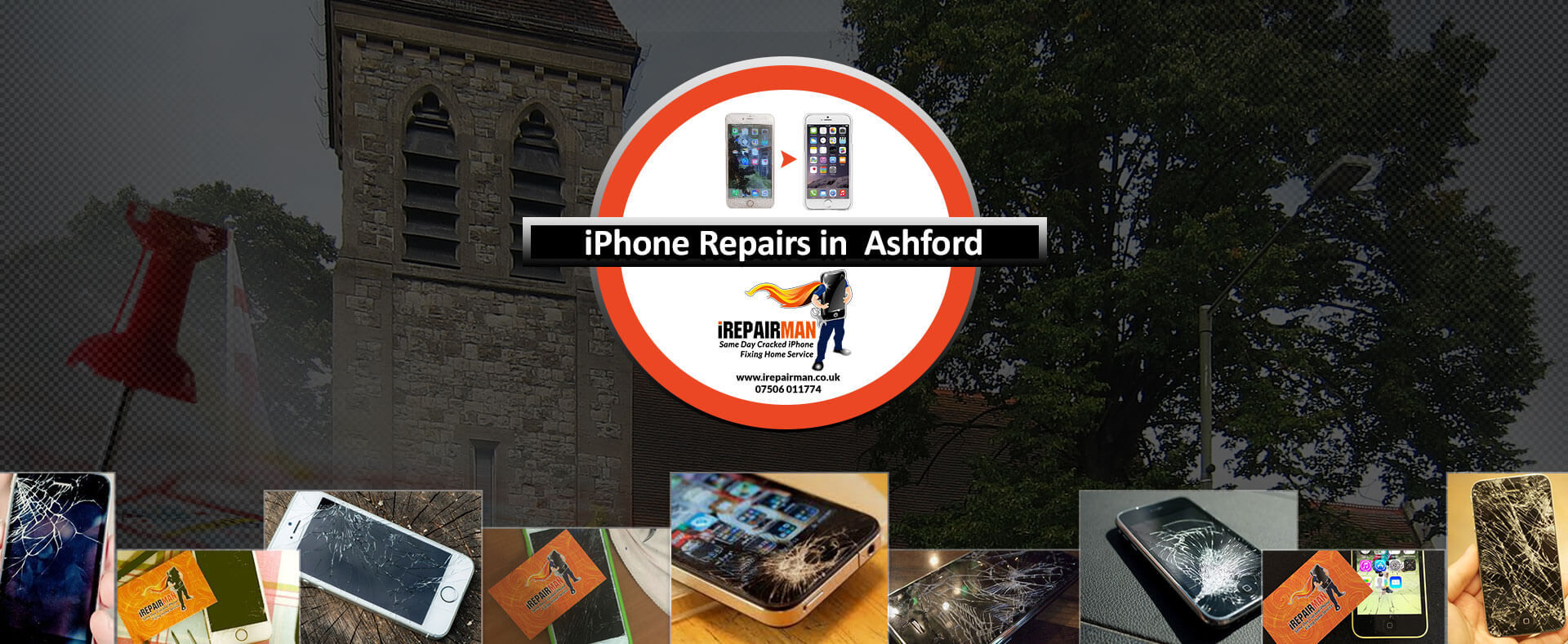 iPhone Repairs in Ashford