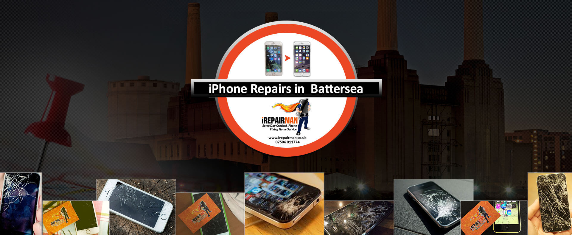 iPhone Repairs in Battersea