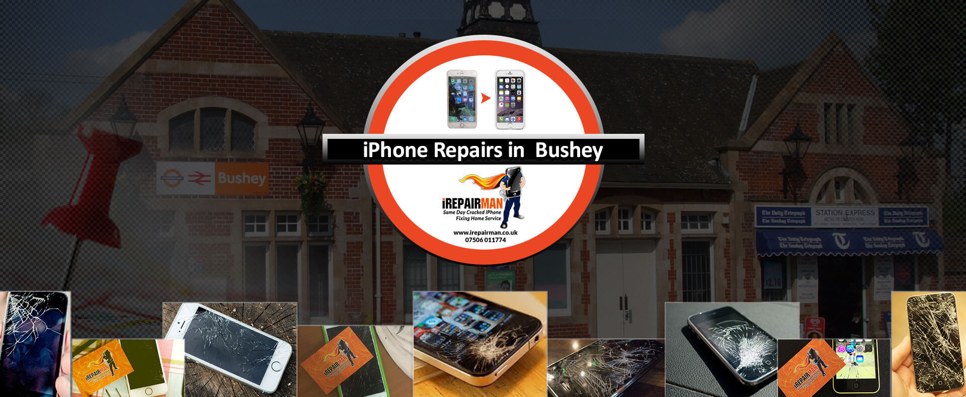 iPhone Repairs in Bushey