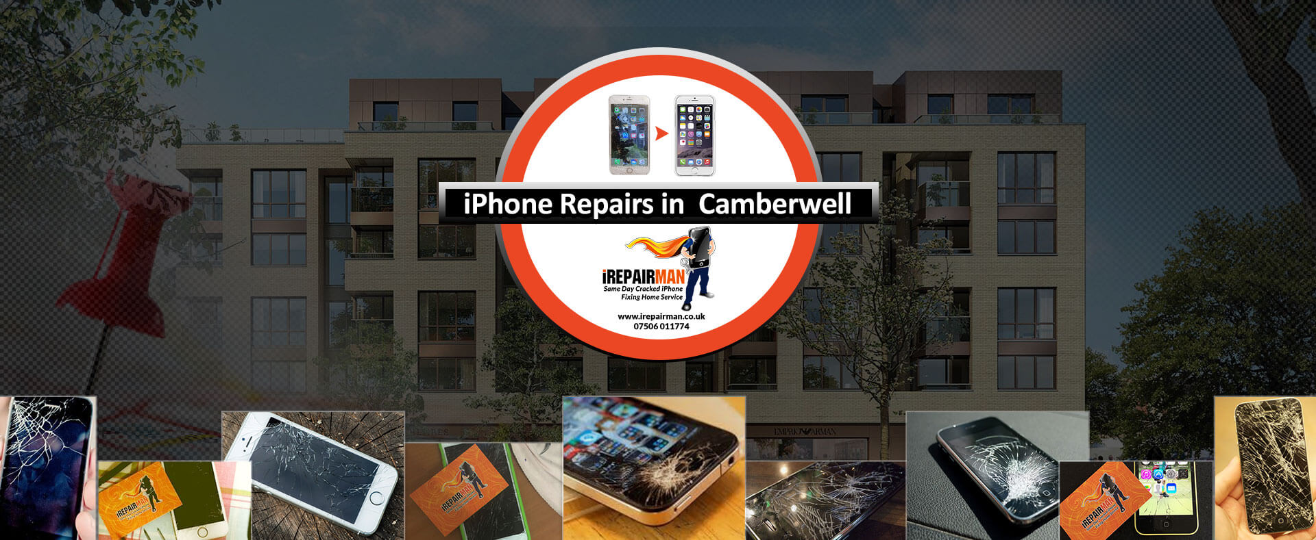 iPhone Repairs in Camberwell