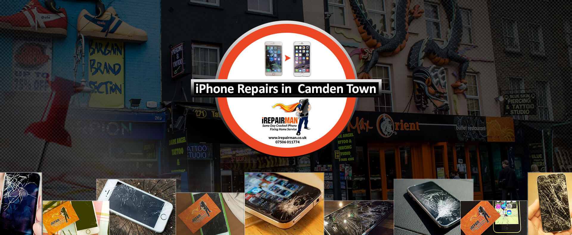 iPhone Repairs in Camden Town