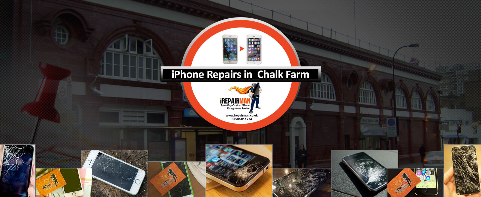 iPhone Repairs in Chalk Farm