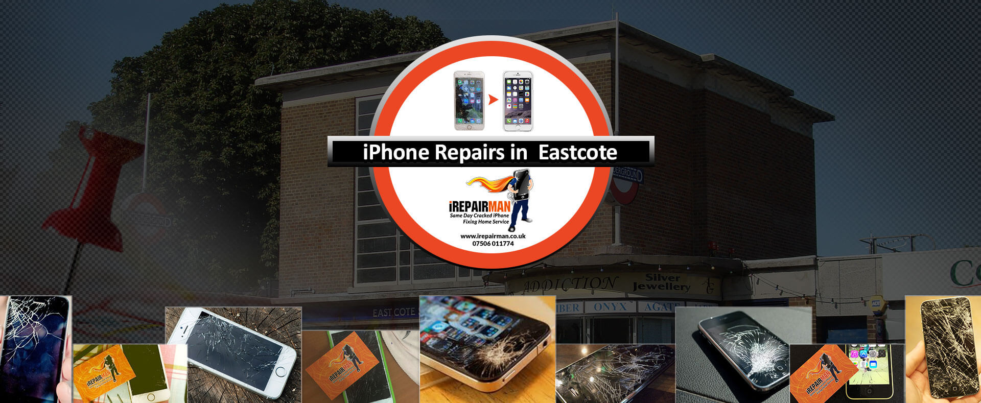 iPhone Repairs in Eastcote