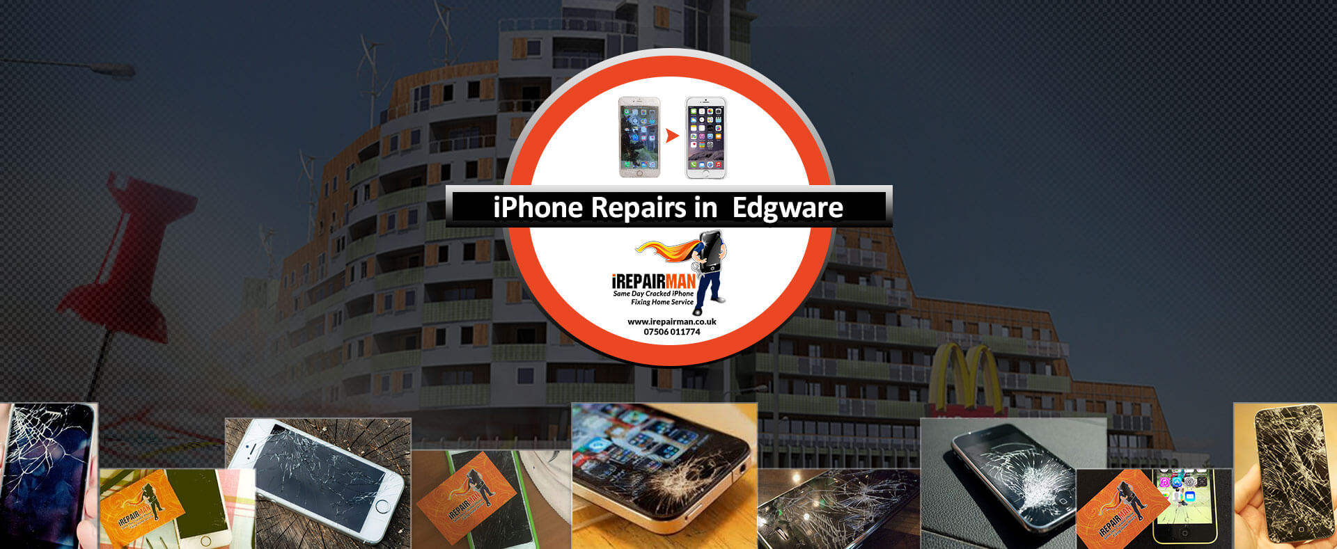 iPhone Repairs in Edgware