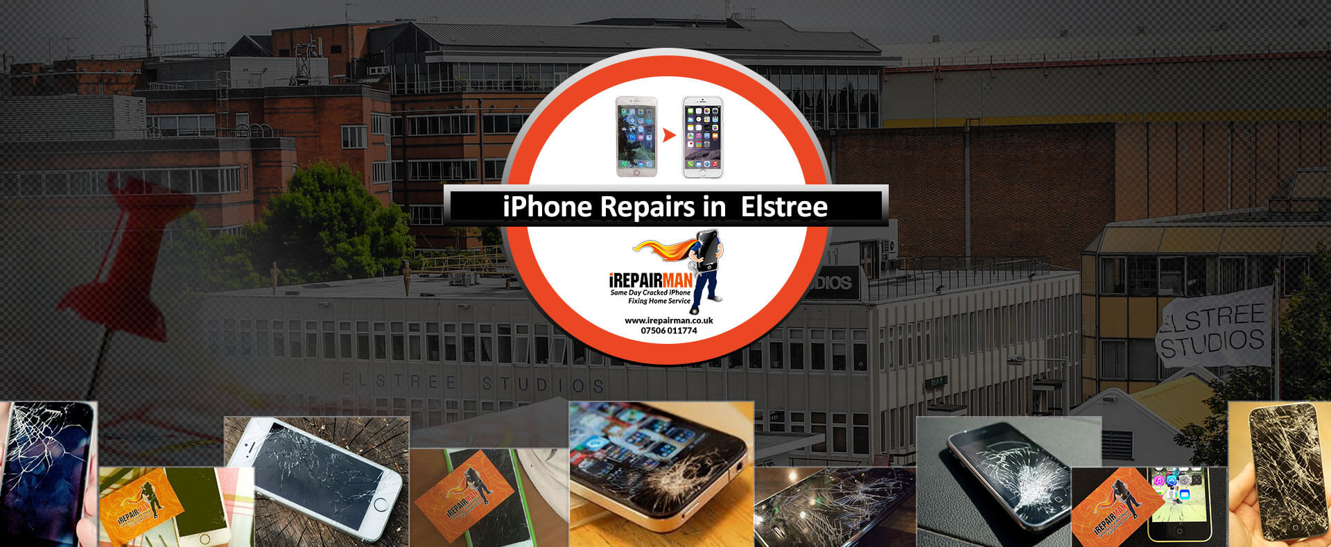 iPhone Repairs in Elstree