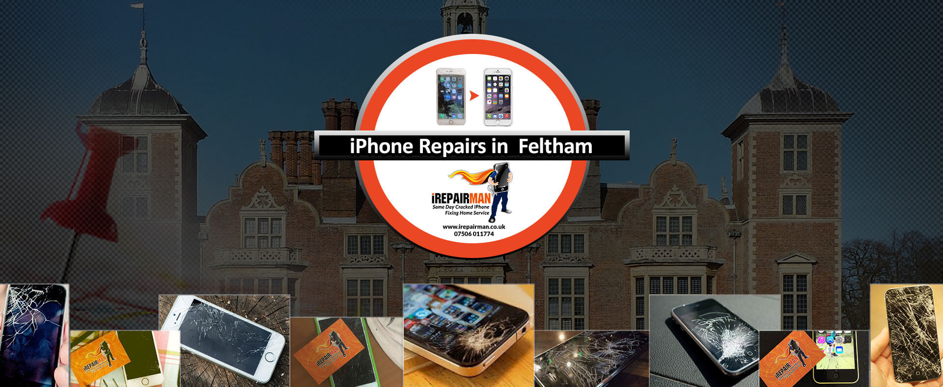 iPhone Repairs in Feltham