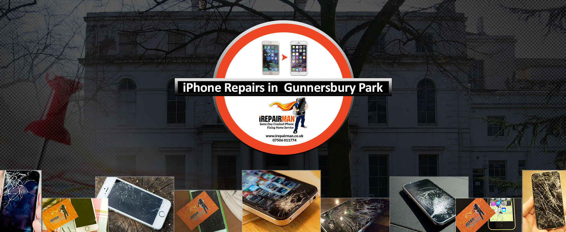 iPhone Repairs in Gunnersbury Park