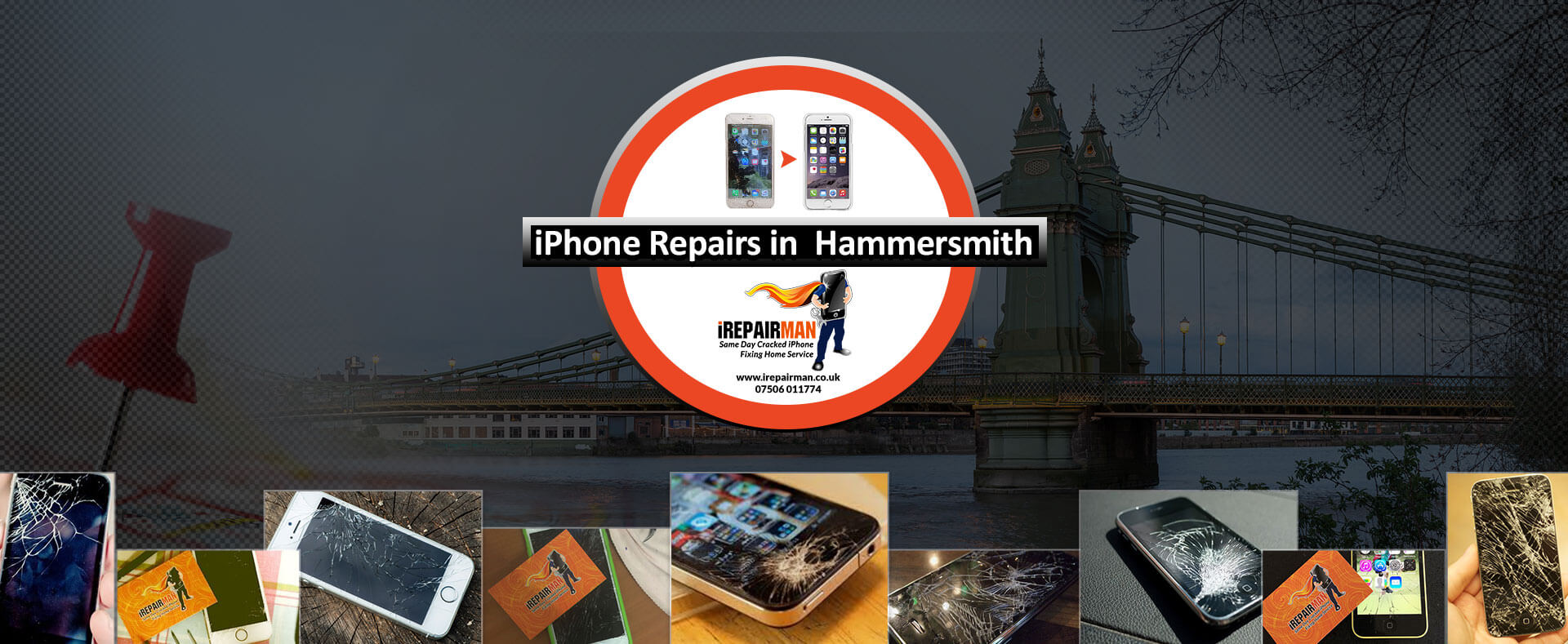 iPhone Repairs in Hammersmith
