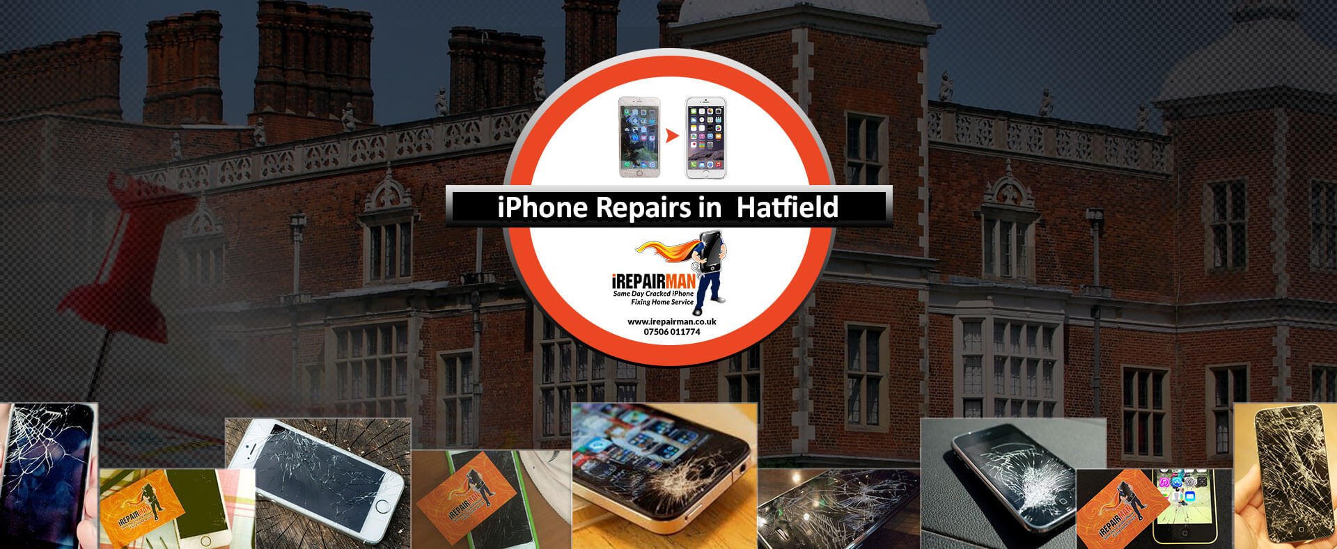 iPhone Repairs in Hatfield