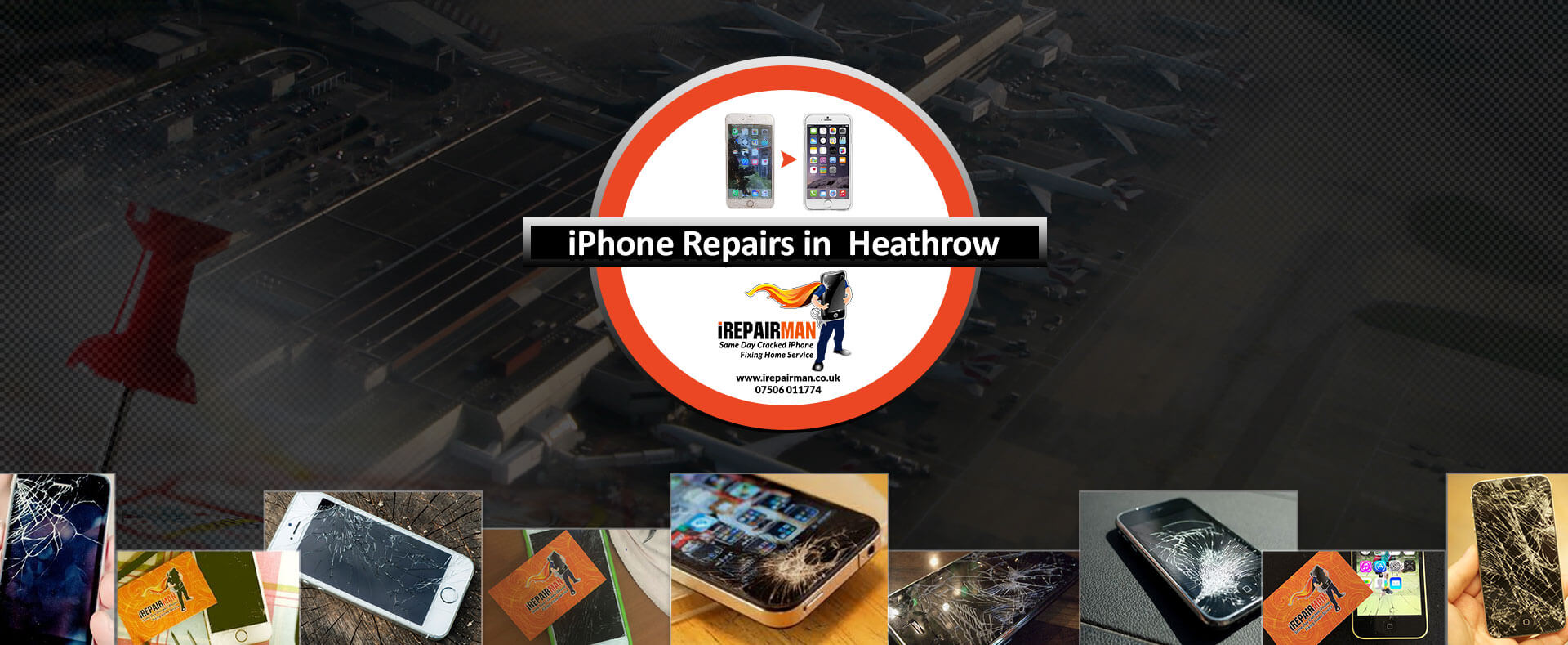 iPhone Repairs in Heathrow