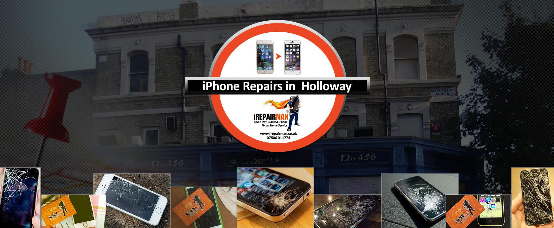 iPhone Repairs in Holloway