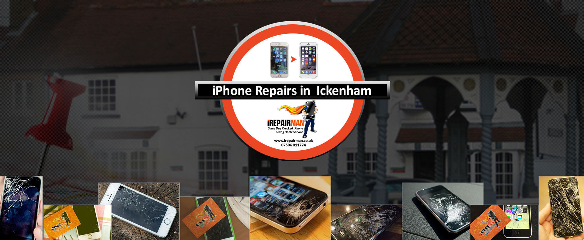 iPhone Repairs in Ickenham