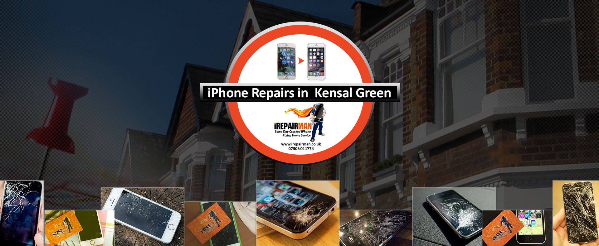 iPhone Repairs in Kensal Green