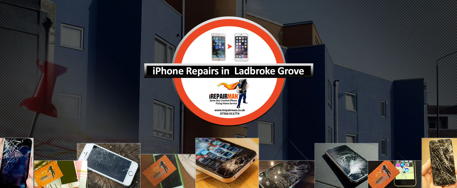 iPhone Repairs in Ladbroke Grove