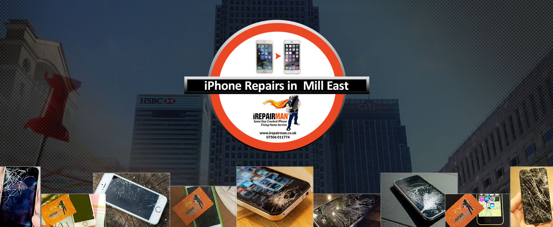 iPhone Repairs in Mill East
