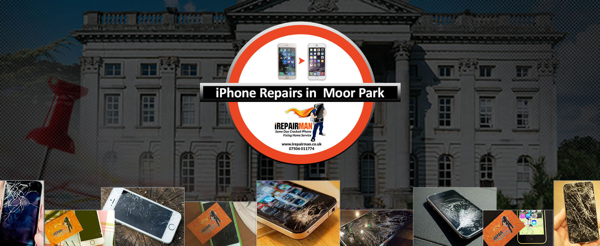 iPhone Repairs in Moor Park