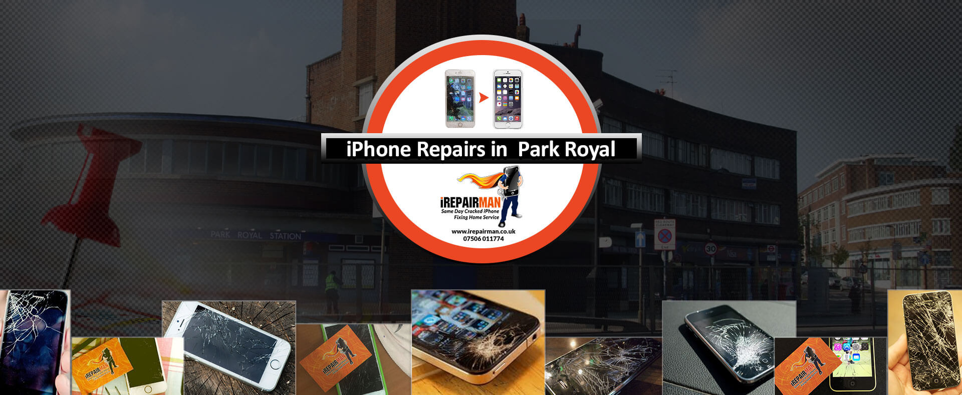 iPhone Repairs in Park Royal