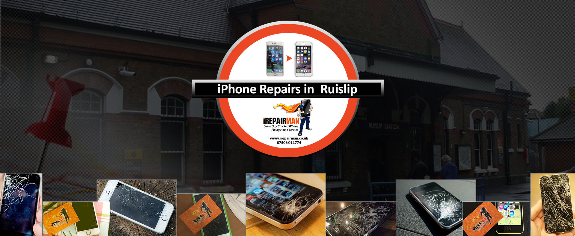 iPhone Repairs in Ruislip
