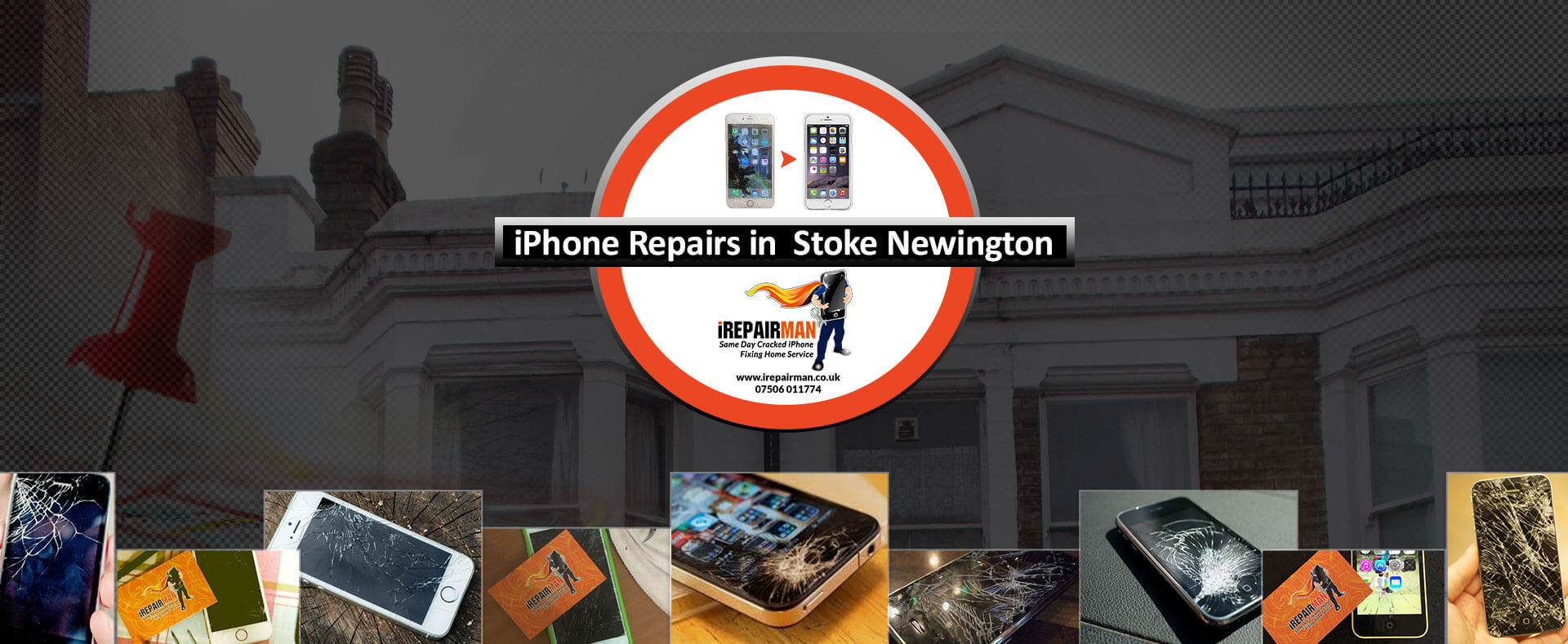 iPhone Repairs in Stoke Newington