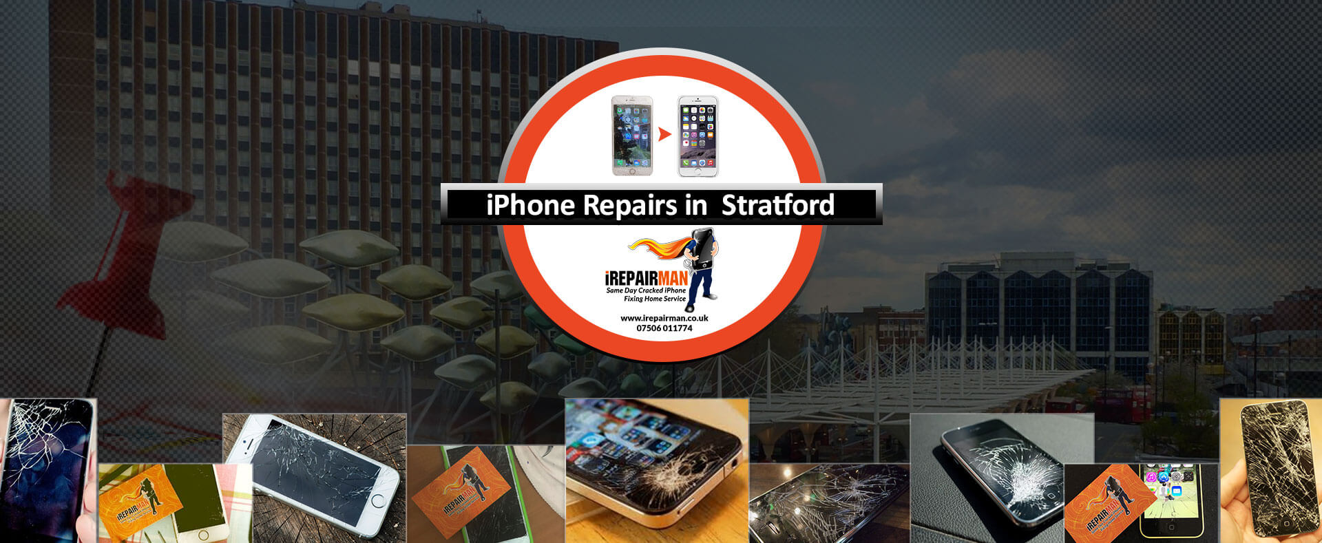 iPhone Repairs in Stratford