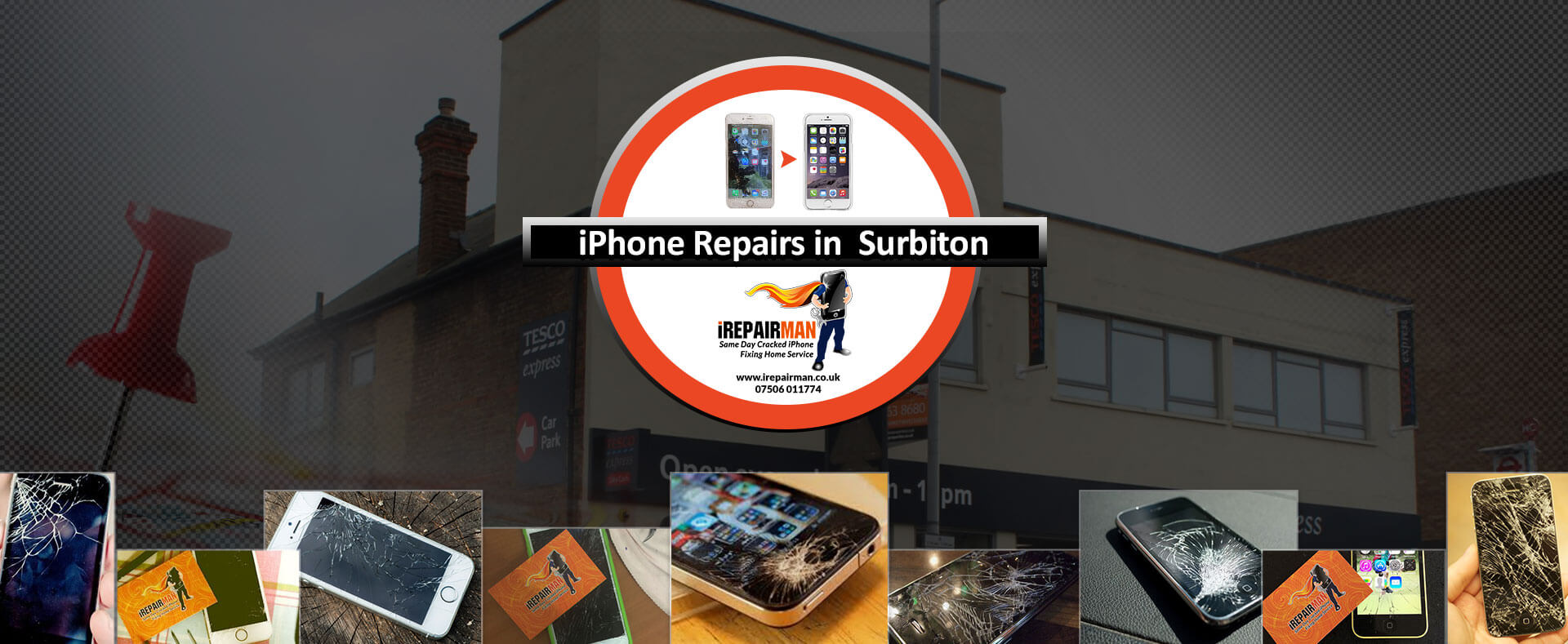 iPhone Repairs in Surbiton