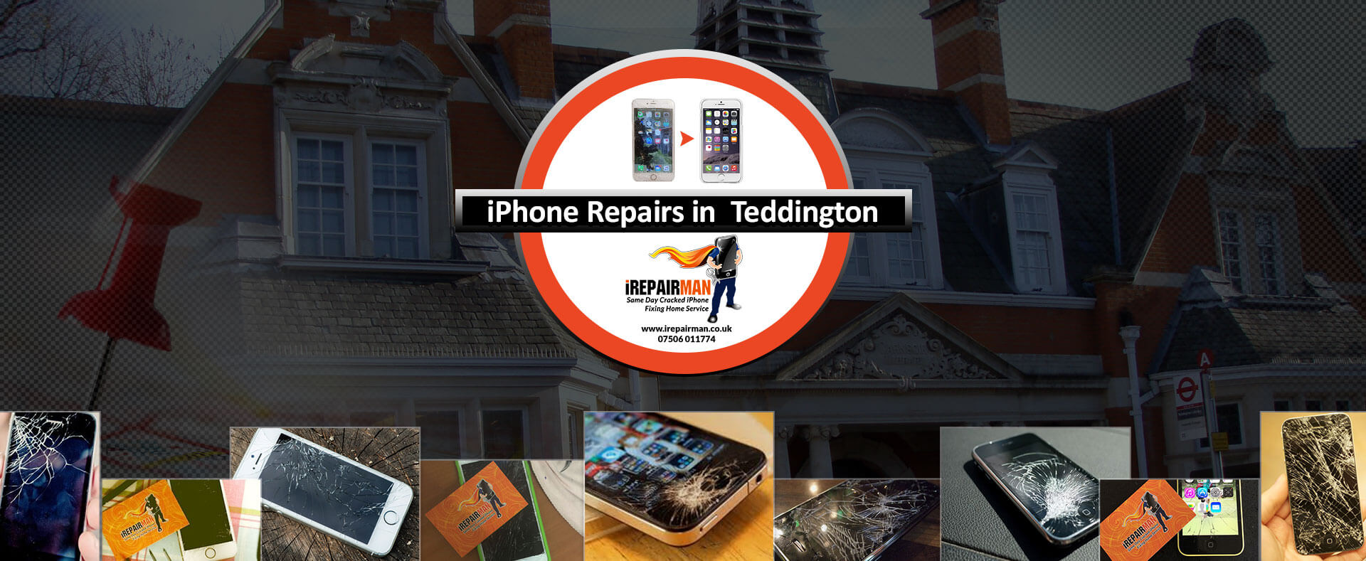 iPhone Repairs in Teddington