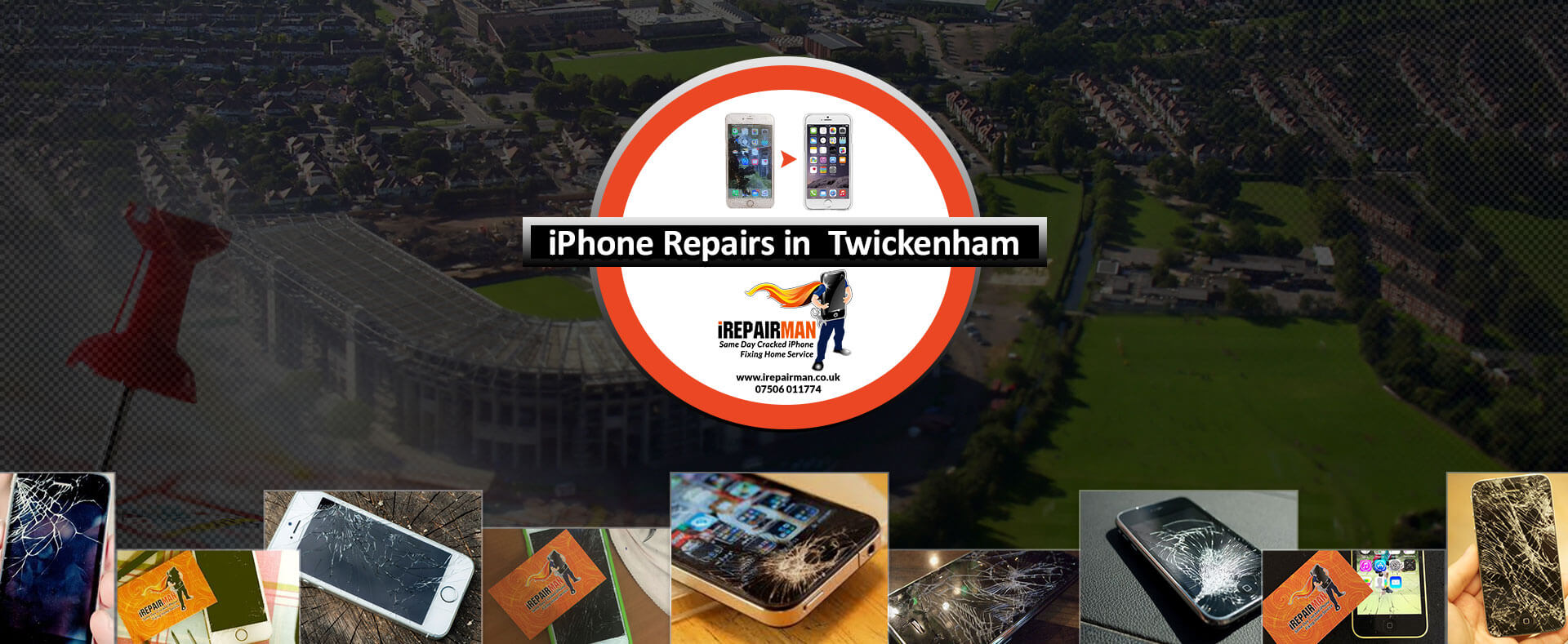 iPhone Repairs in Twickenham