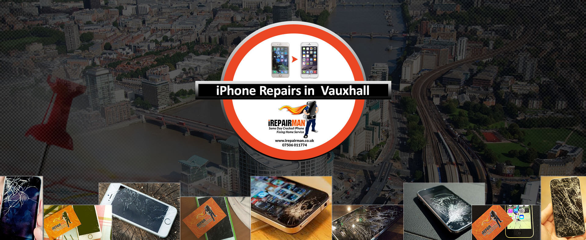 iPhone Repairs in Vauxhall