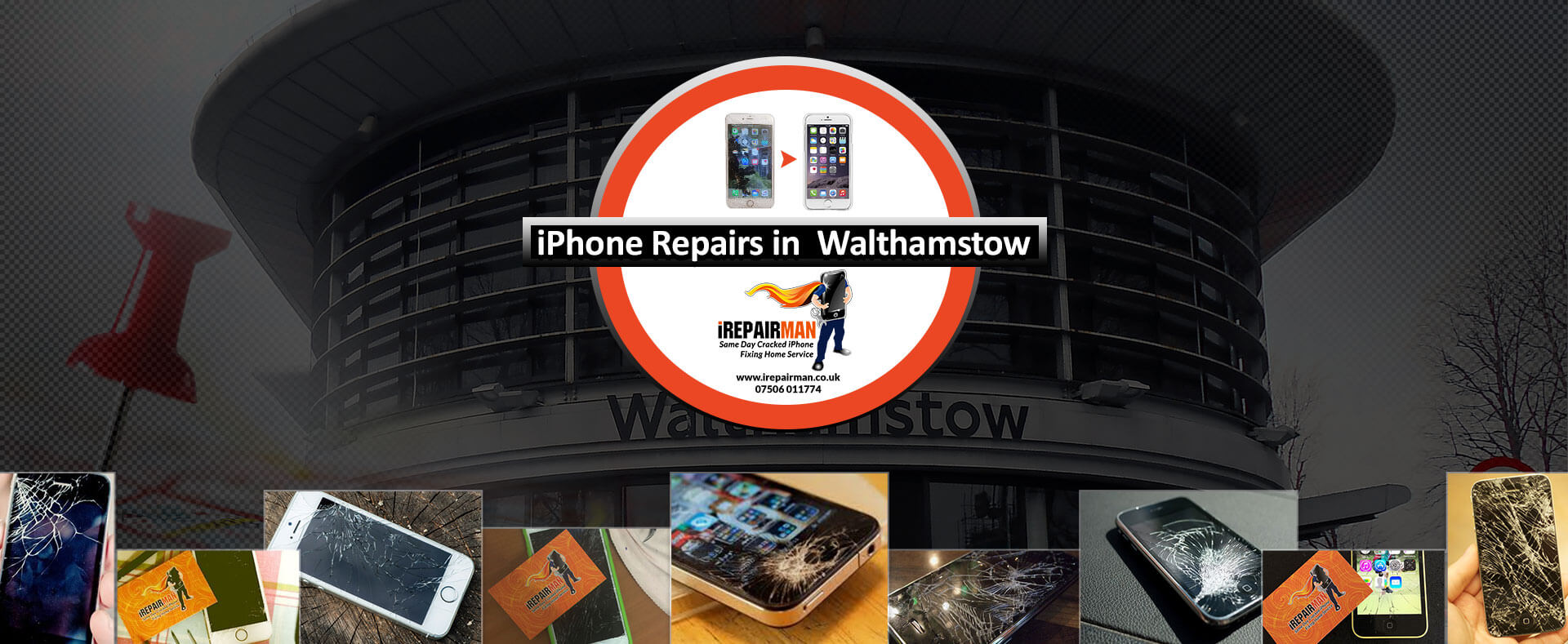 iPhone Repairs in Walthamstow