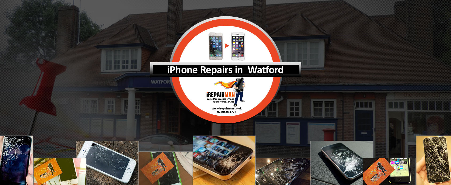 iPhone Repairs in Watford