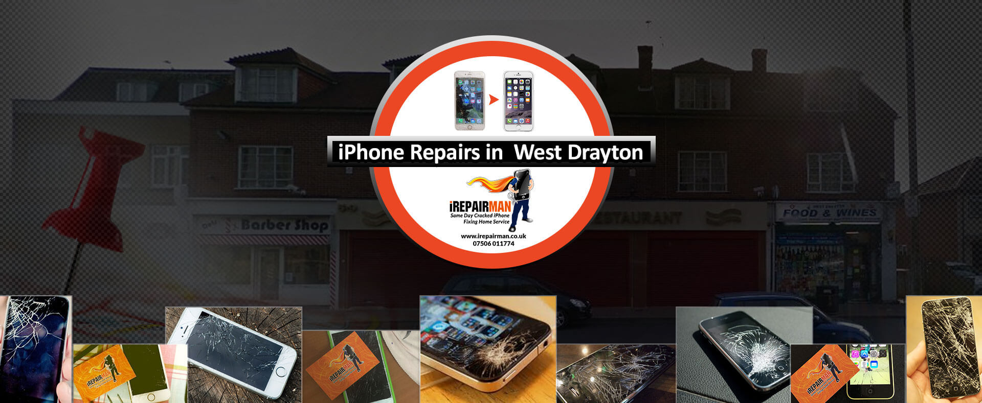iPhone Repairs in West Drayton