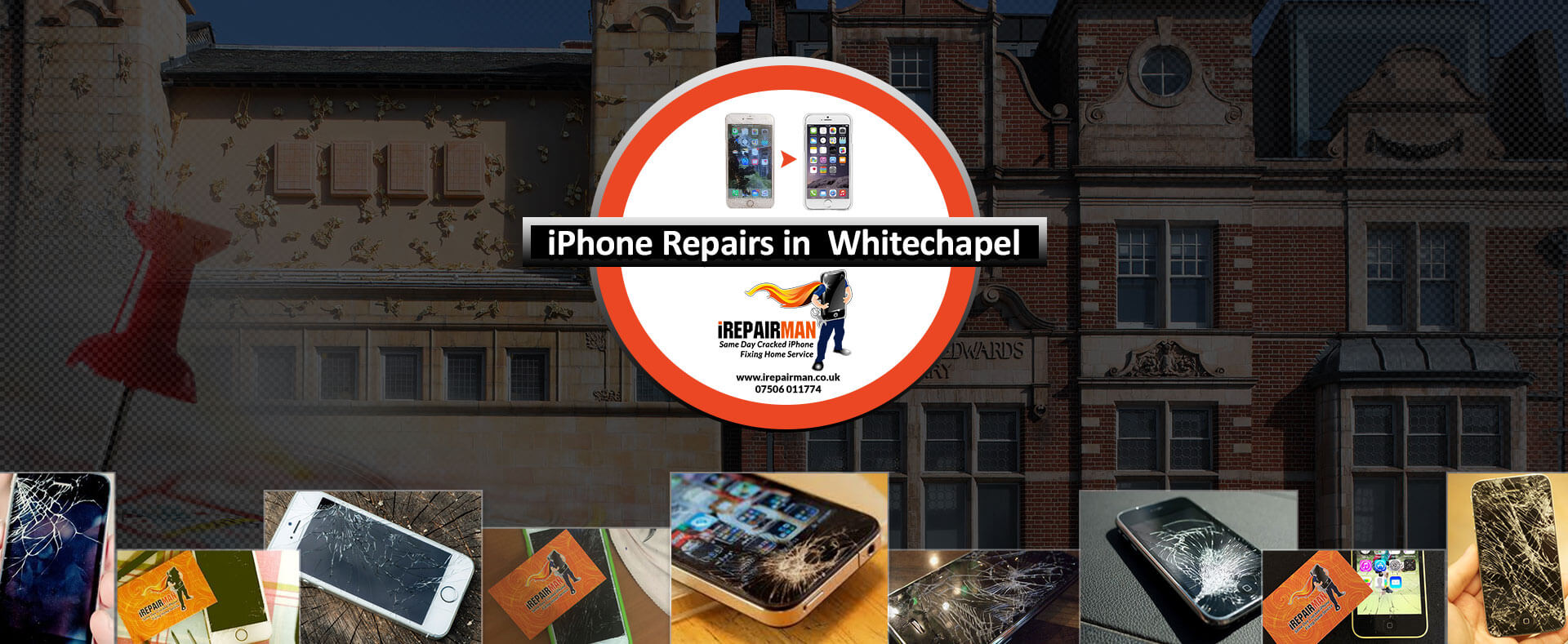 iPhone Repairs in Whitechapel