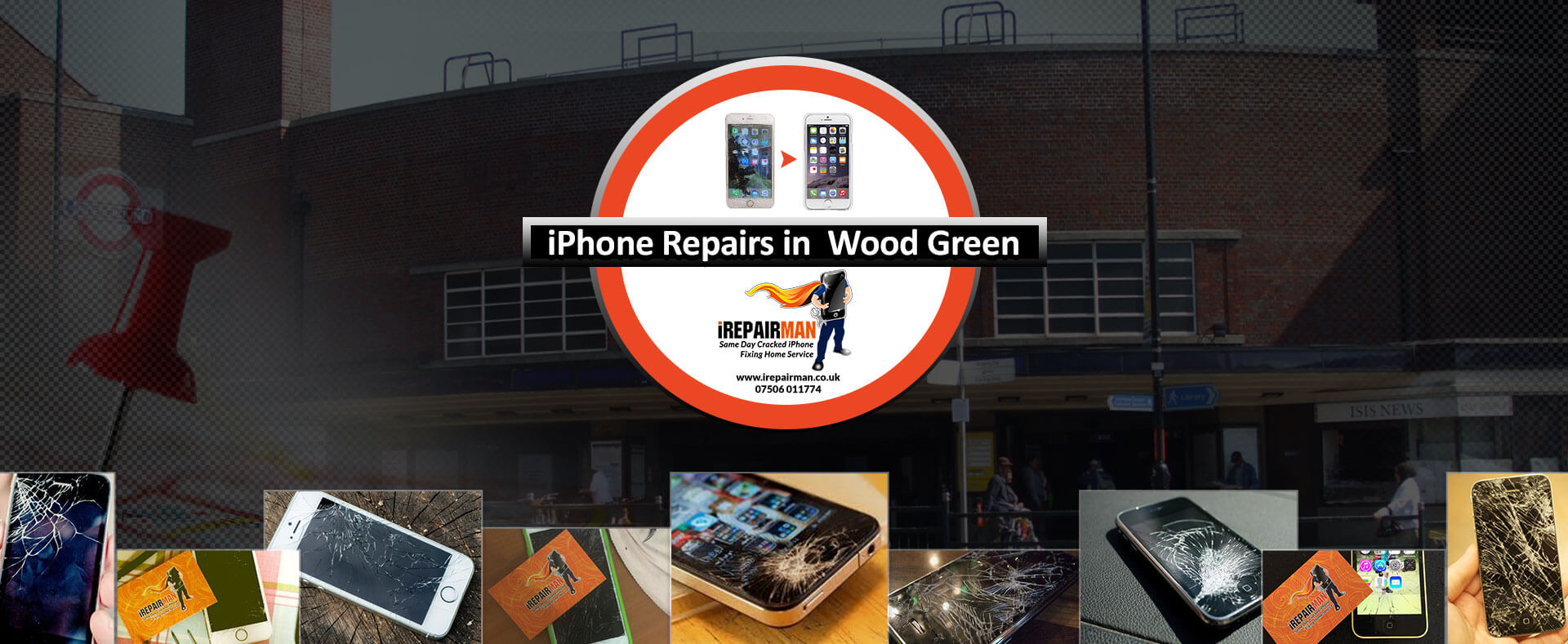 iPhone Repairs in Wood Green
