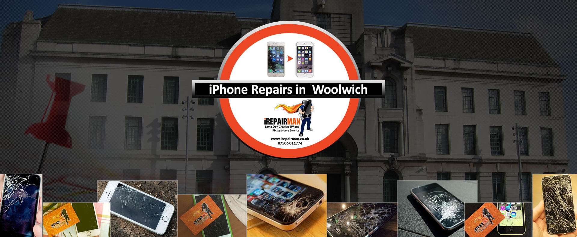 iPhone Repairs in Woolwich