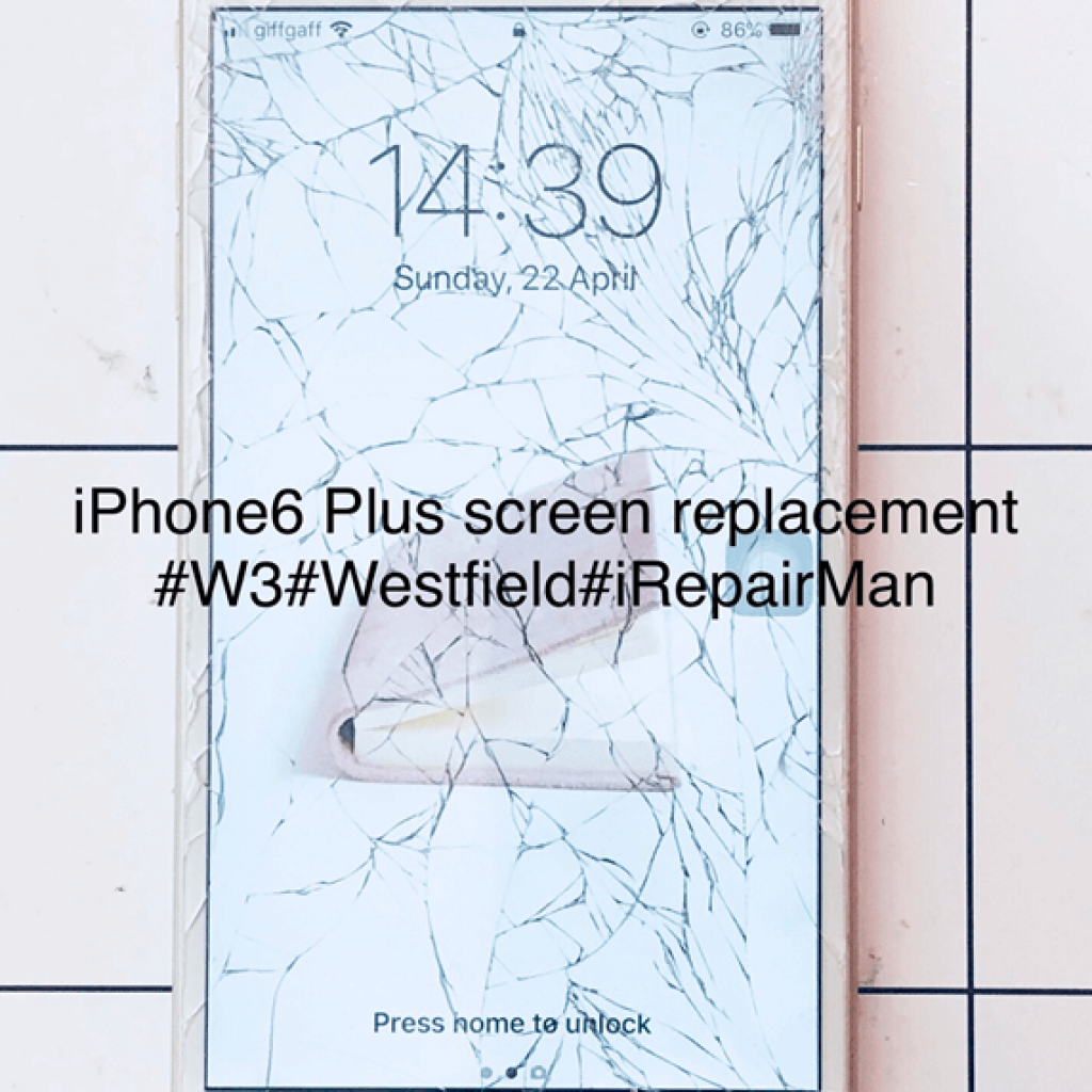 iphone6 Plus screen replacement