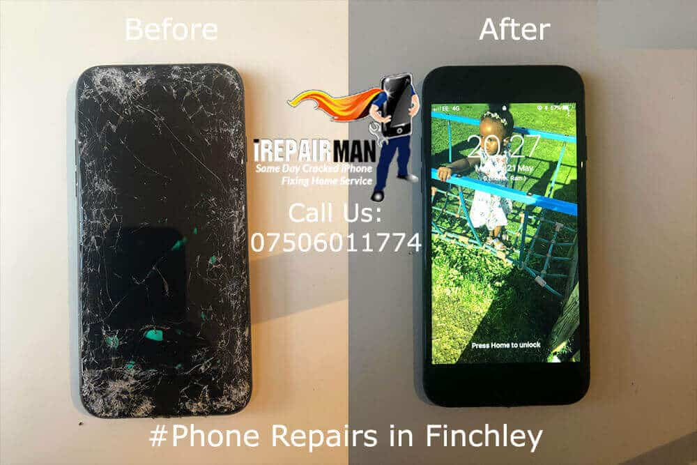 iPhone Screen Replacement Finchley
