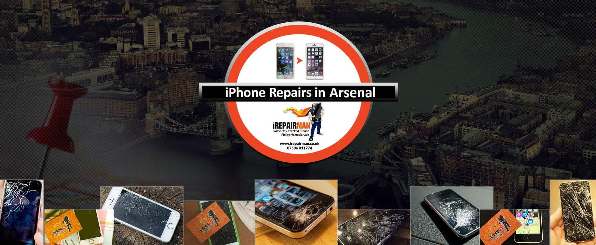 iPhone Repairs in Arsenal