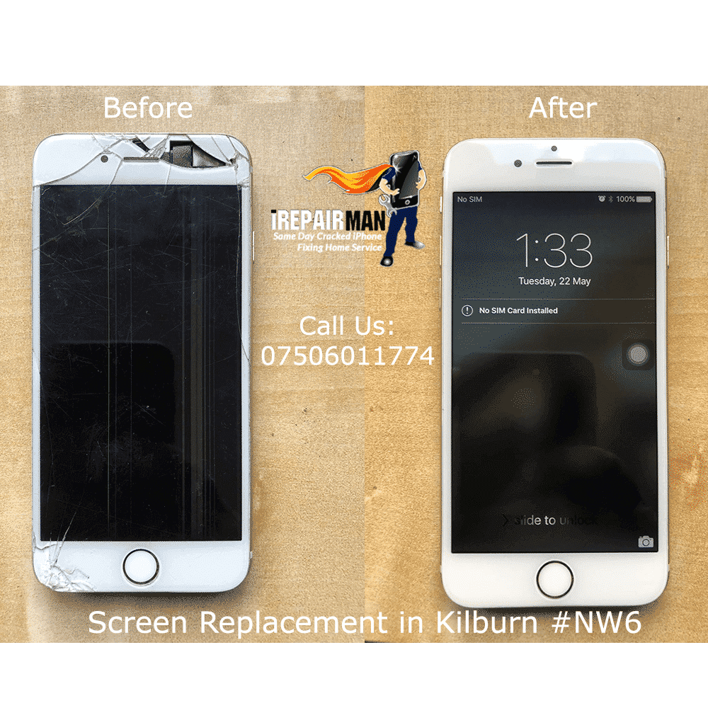 iPhone Screen Replacement in Kilburn