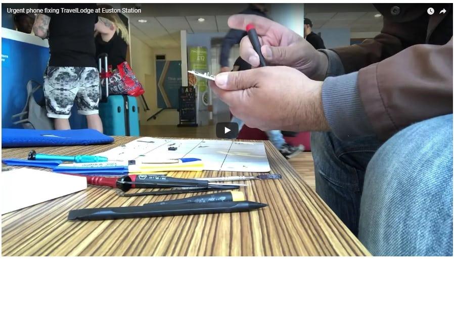 iPhone repairing at Euton