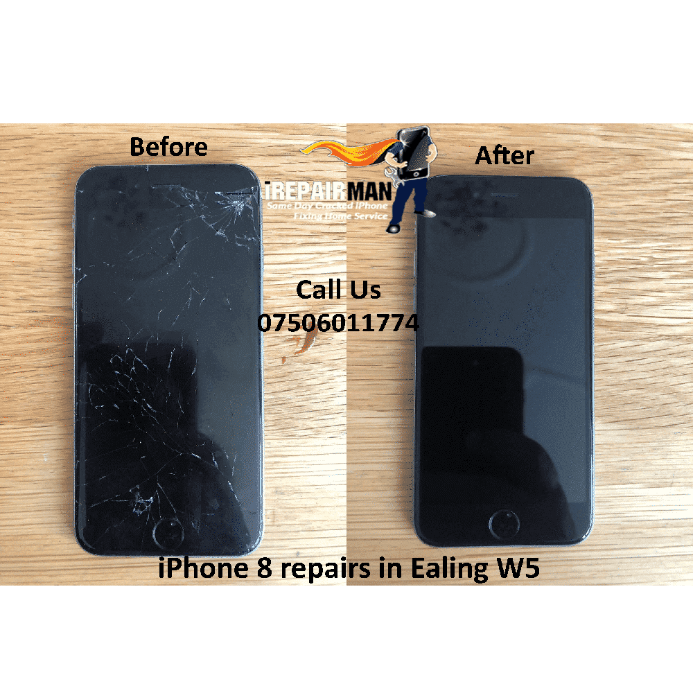 iPhone 8 repairs in Ealing W5