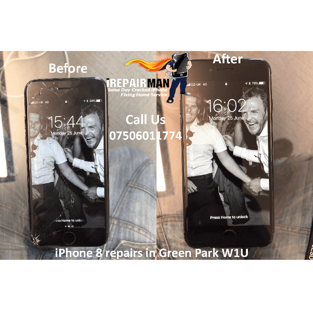 iPhone 8 Screen Repairs in Green Park