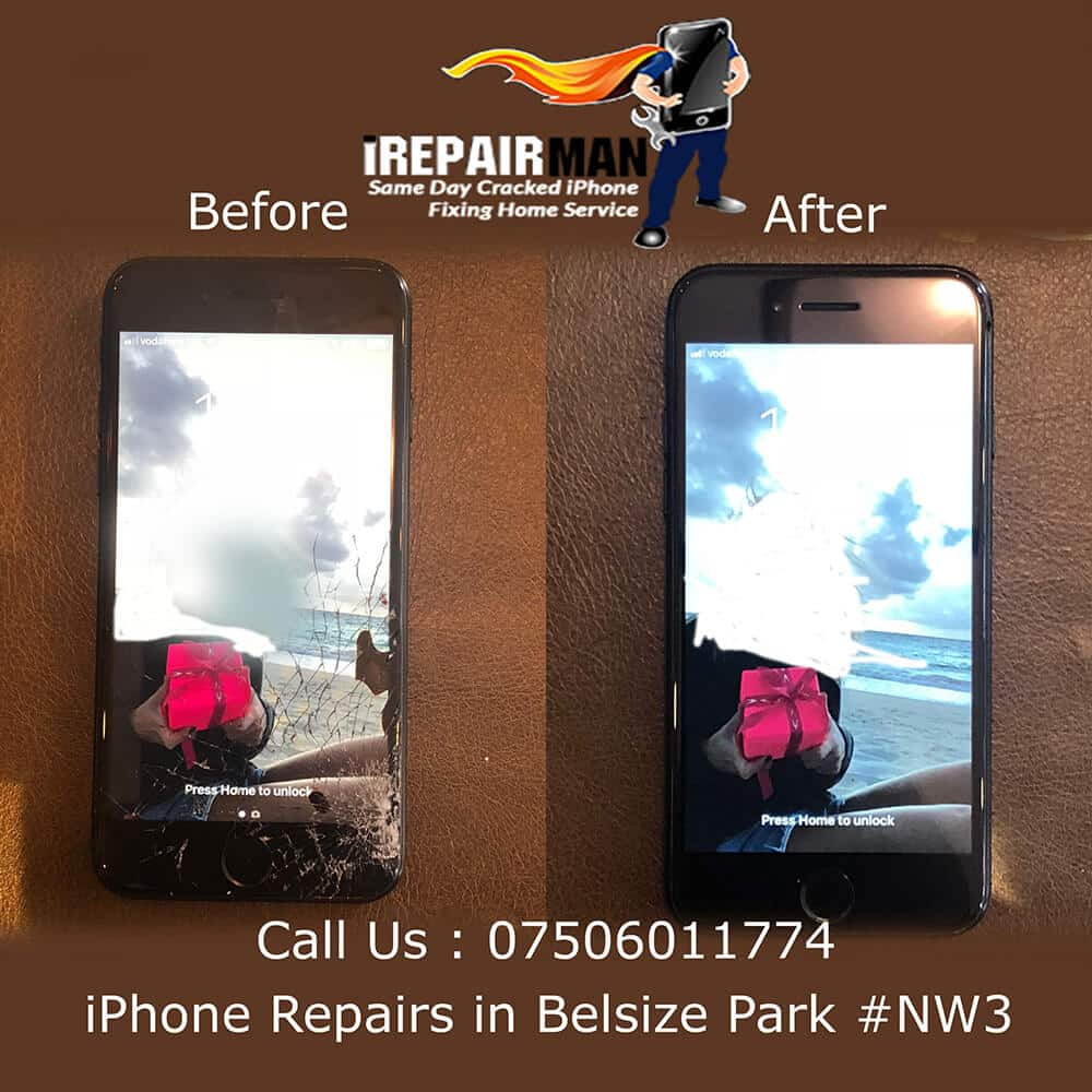 iPhone Repairs in Belsize Park