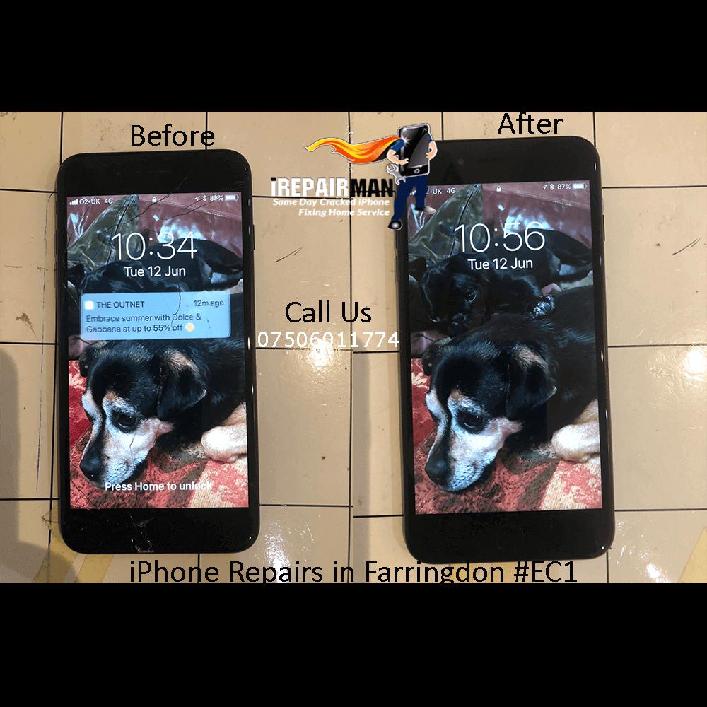 iPhone Repairs in Farringdon EC1