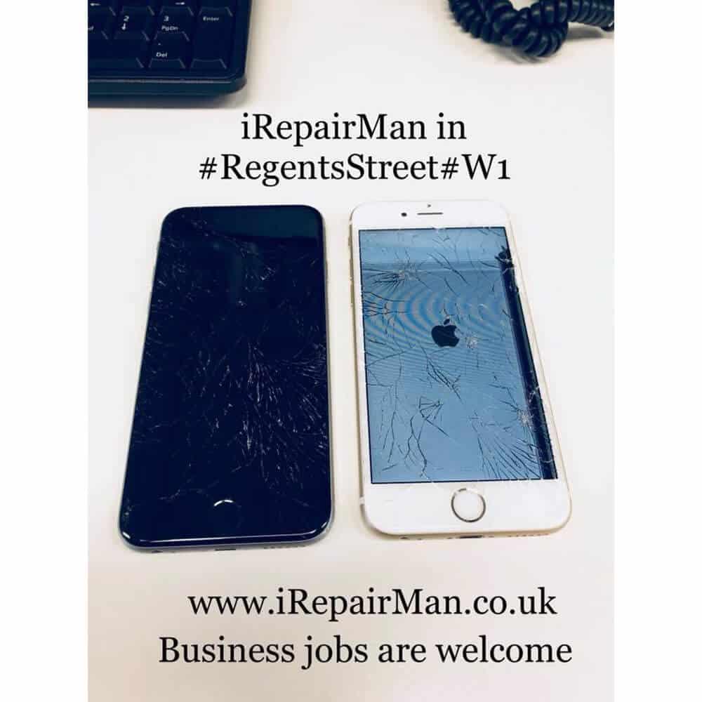 iPhone Repairs in Regents Street W1