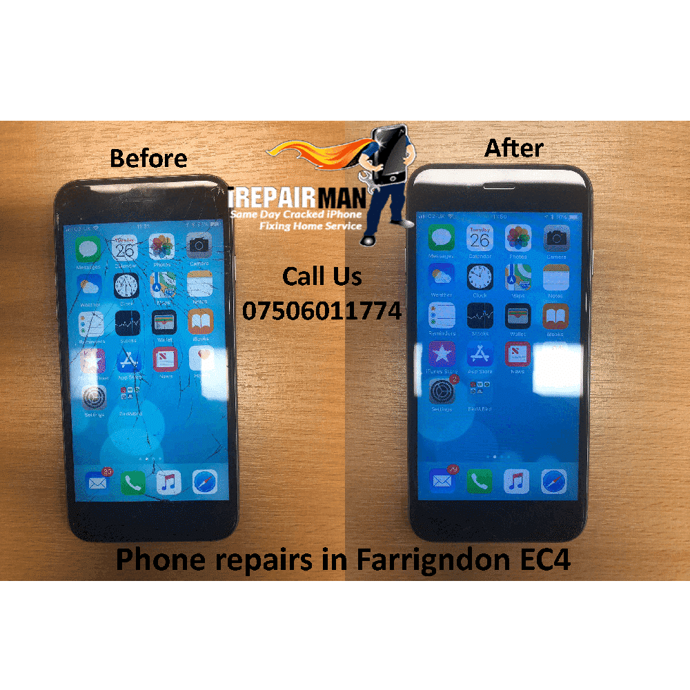 Phone repairs in Farrigndon