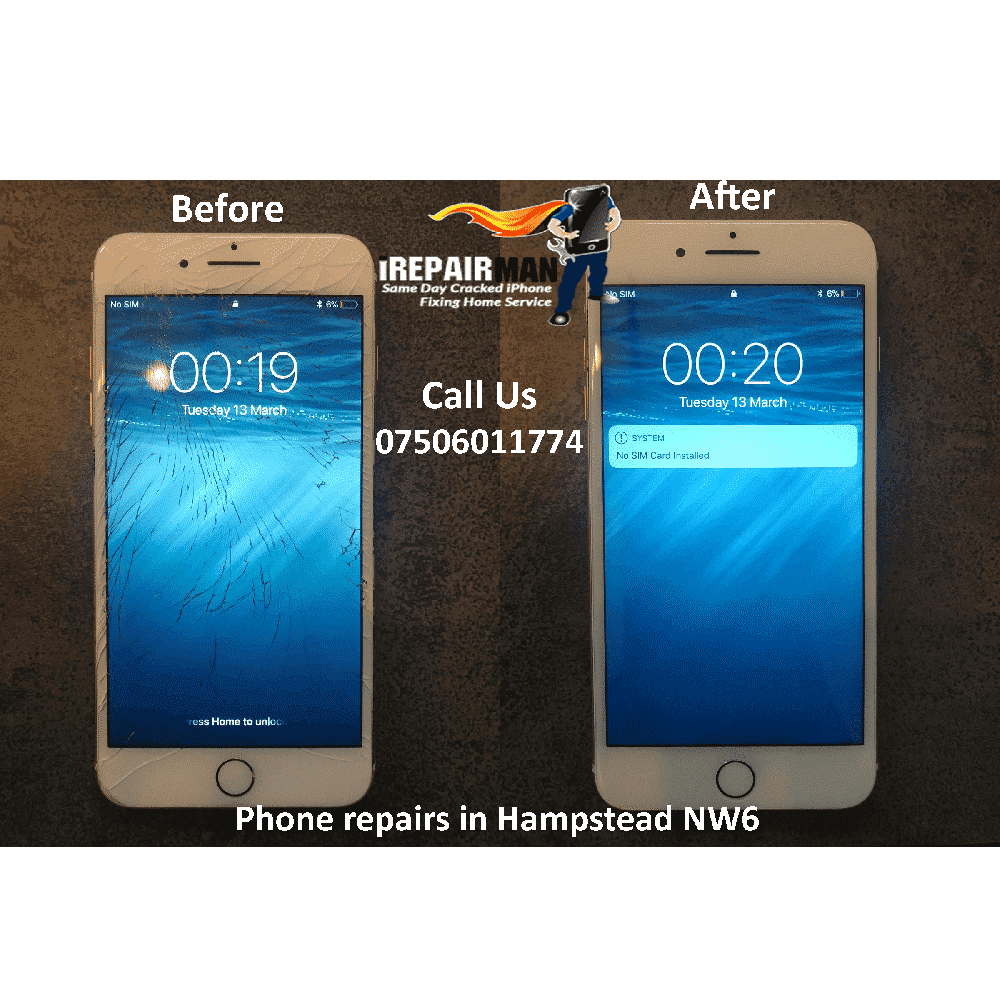 Phone Repairs in Hampstead NW6
