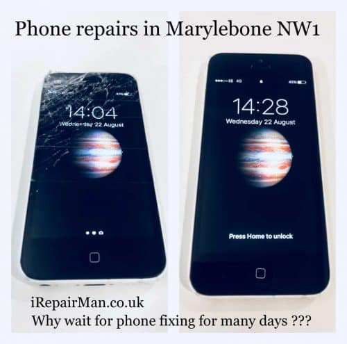 iPhone repairs in Marylebone NW1
