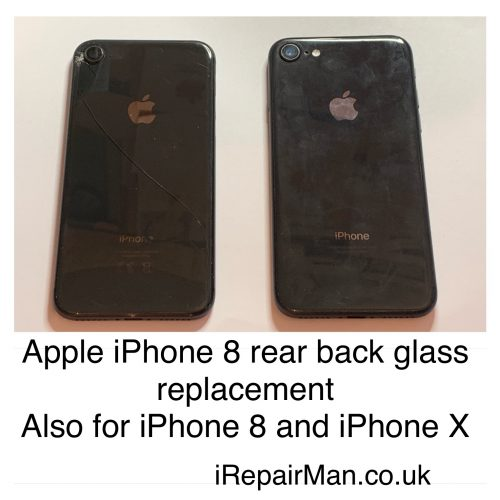 back cover glass fixing